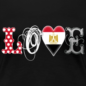 Love Egypt White - Frauen Premium T-Shirt