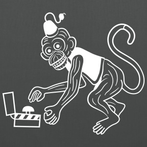 Monkey // @ddicted - Stoffbeutel