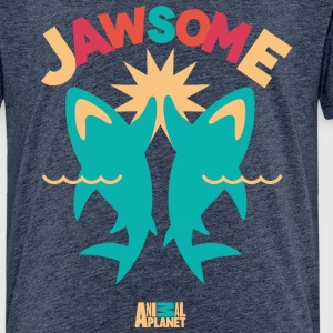 Animal Planet Haie High-Five Jawsome - Teenager Premium T-Shirt
