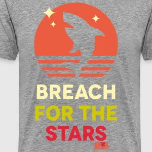 Animal Planet Hai Breach For The Stars - Männer Premium T-Shirt