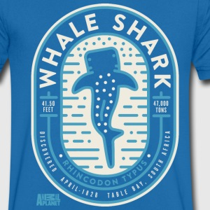 Animal Planet Whale Shark Educational Facts - Men's V-Neck T-Shirt