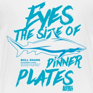 Animal Planet Bullenhai Eyes Like Plates - Kinder Premium T-Shirt