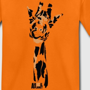 Animal Planet Africa Cute Giraffe Drawing - Kids' Premium T-Shirt