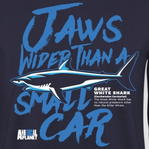 Animal Planet Weißer Hai Jaws Like A Car - Männer Pullover