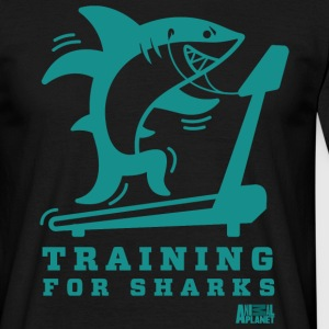 Animal Planet Hai Fitness Training For Sharks - Männer T-Shirt