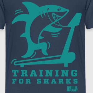 Animal Planet Gym Humour Training For Sharks - Kids' Premium T-Shirt