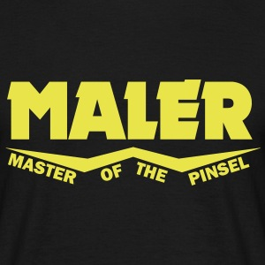 maler master of the pinsel T-Shirts - Männer T-Shirt