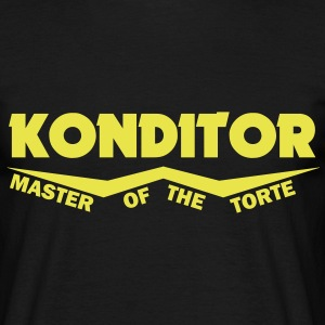 konditor master of the torte T-Shirts - Männer T-Shirt