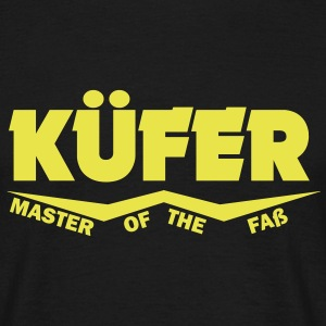 küfer master of the faß T-Shirts - Männer T-Shirt