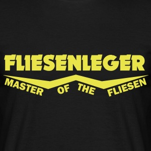 fliesenleger master of the fliesen T-Shirts - Männer T-Shirt