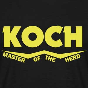 koch master of the herd T-Shirts - Männer T-Shirt