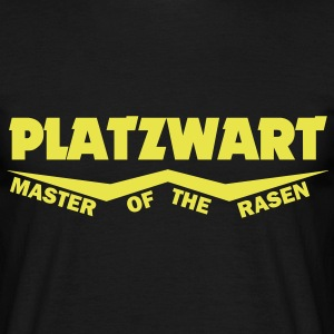 patzwart master of the rasen T-Shirts - Männer T-Shirt
