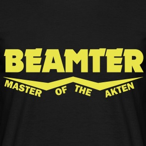 beamter master of the akten T-Shirts - Männer T-Shirt