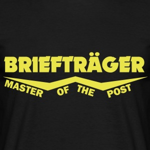 briefträger master of the post T-Shirts - Männer T-Shirt