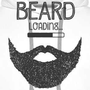 Beard Loading... Hoodies & Sweatshirts - Men's Premium Hoodie