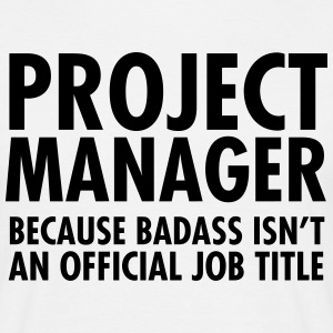 Project Manager - Badass T-shirts - Herre-T-shirt