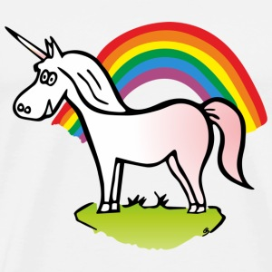 Unicorn and Rainbow T-shirts - Premium-T-shirt herr