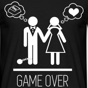 Game Over  - Männer T-Shirt