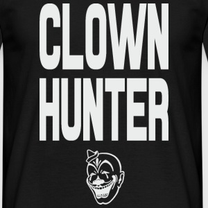 Clown Hunter grey T-Shirts - Männer T-Shirt