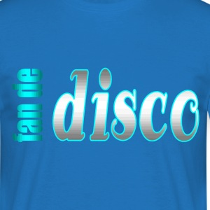fan de disco - T-shirt Homme