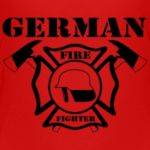 German Firefigther T-Shirts - Teenager Premium T-Shirt