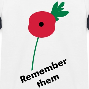 Remember them - Kids' Baseball T-Shirt