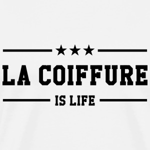 Coiffure / Coiffeur / Coiffeuse / Mode / Cheveux Tee shirts - T-shirt Premium Homme
