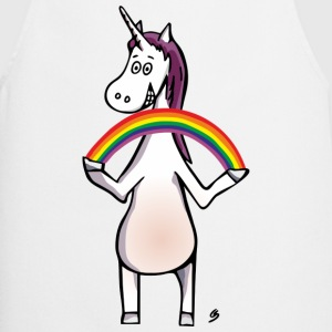 Magic Unicorn - Unicorn and Rainbow Delantales - Delantal de cocina