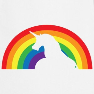 Unicorn and Rainbow Delantales - Delantal de cocina