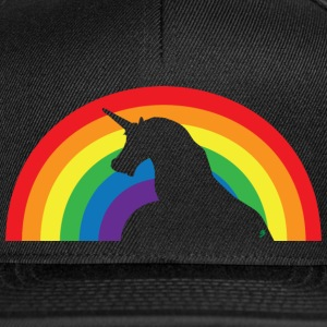 Unicorn and Rainbow Kepsar & mössor - Snapbackkeps