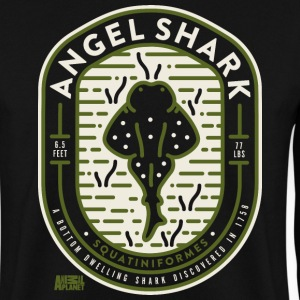 Animal Planet Cool Sharks Angelshark Monkfish - Men's Sweatshirt