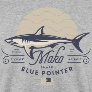 Animal Planet Mako Shark Blue Pointer Vintage - Herre sweater