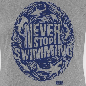 Animal Planet Sharks Never Stop Swimming - Women's Premium T-Shirt