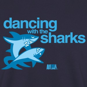 Animal Planet Humour Dancing With The Sharks - Herre sweater