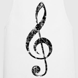Violin key, musical key  Aprons - Cooking Apron