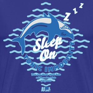 Animal Planet Sleeping Shark Tonic Immobility - Men's Premium T-Shirt