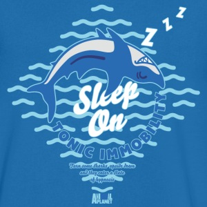 Animal Planet Sleeping Shark Tonic Immobility - Men's V-Neck T-Shirt