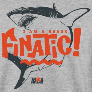 Animal Planet Ocean Humour Shark Finatic - Herre sweater