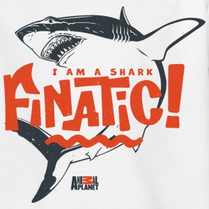 Animal Planet Hai Flosse Finatic Wortspiel - Kinder T-Shirt