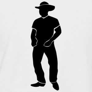 Line Dance - Country Music - Western T-Shirts - Männer Baseball-T-Shirt