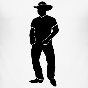 Line Dance - Country Music - Western T-Shirts - Männer Slim Fit T-Shirt