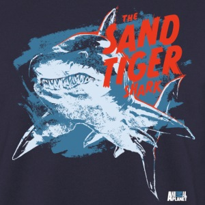 Animal Planet Ocean Sand Tiger Shark Vintage - Men's Sweatshirt