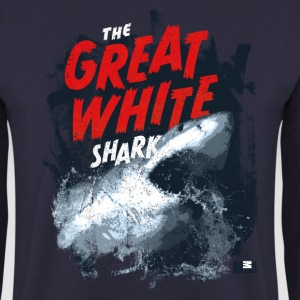 Animal Planet Ocean Cool Great White Shark - Herre sweater
