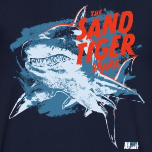 Animal Planet Ocean Sand Tiger Shark Vintage - Men's V-Neck T-Shirt