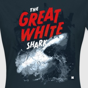 Animal Planet Weißer Hai Great White Shark - Frauen T-Shirt