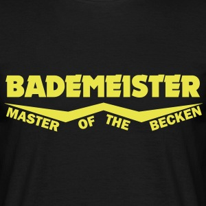 bademeister - master of the becken T-Shirts - Männer T-Shirt