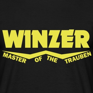 winzer - master of the trauben T-Shirts - Männer T-Shirt