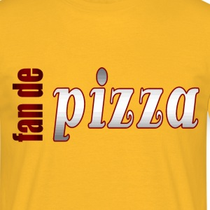 fan de pizza - T-shirt Homme