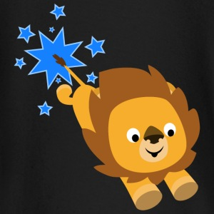 Cute Cartoon Star Lion by Cheerful Madness!! Baby Long Sleeve Shirts - Baby Long Sleeve T-Shirt