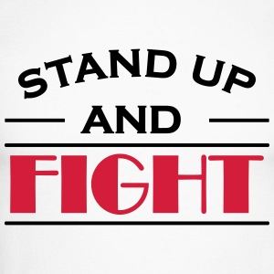 Stand up and fight Long sleeve shirts - Men's Long Sleeve Baseball T-Shirt
